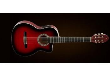 Valencia CG160CE RDS - Red Sunburst - Elektro Klasik Gitar