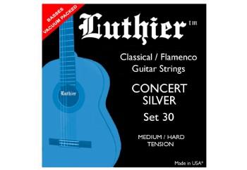 Luthier Concert Silver Set 30 Takım Tel - Klasik gitar teli