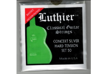 Luthier Concert Silver Set 50 Takım Tel - Klasik gitar teli