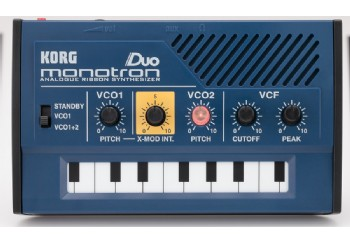 Korg Monotron Duo - Analog Ribbon Synthesizer