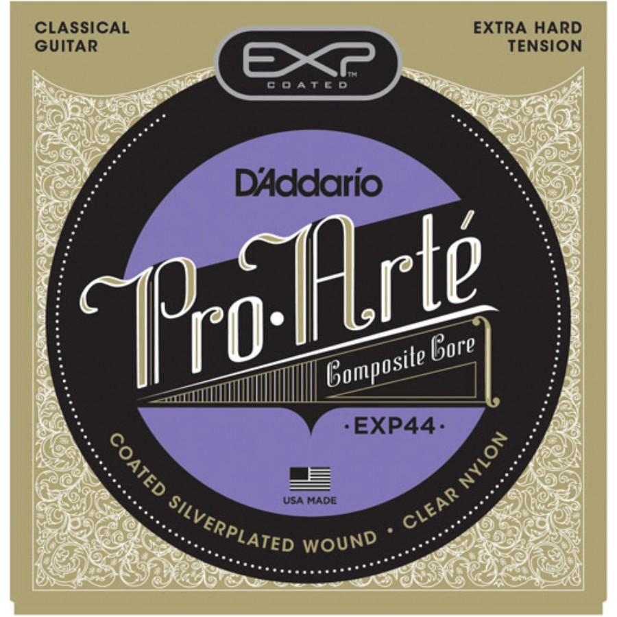 D'Addario EXP44 Coated, Extra-Hard Tension