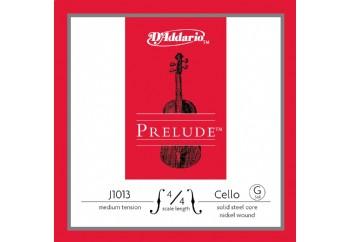 D'Addario J1013 4/4 Prelude Cello Single G Medium Tension G (Sol) Tek Tel