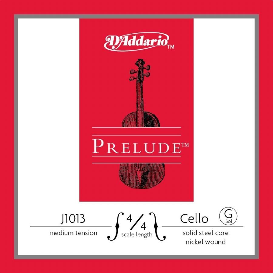 D'Addario J1013 4/4 Prelude Cello Single G Medium Tension