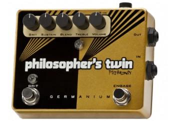 Pigtronix Philosopher's Twin Germanium - Sustain/Overdrive Pedalı