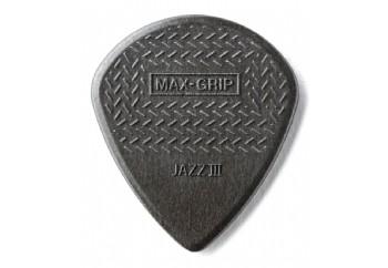 Jim dunlop Max-Grip Jazz III Carbon Fiber - 1 Adet - Pena