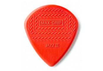 Jim dunlop Max-Grip Jazz III Nylon - 1 Adet - Pena