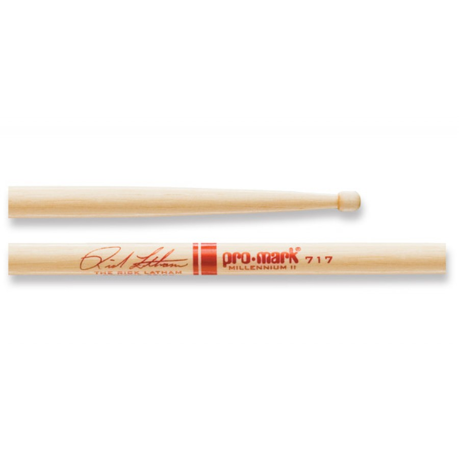 Promark TX717W Rick Latham Signature Series Wood Tip Drumsticks