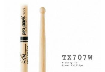 Promark TX707W Hickory Simon Phillips wood tip Sticks - Baget
