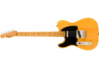 Squier Classic Vibe 50 Telecaster, Left-Handed Butterscotch Blonde - Maple - Solak Elektro Gitar