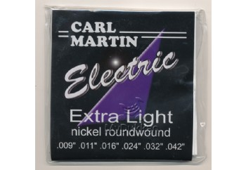 Carl Martin Electric Extra Light Takım Tel - Elektro Gitar Teli 009-042