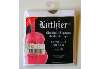 Luthier Concert Silver Set 60 Takım Tel - Klasik Gitar Teli