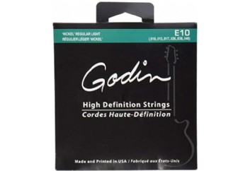 Godin E-10 Electric HD Strings Takım Tel