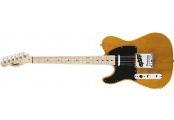 Squier Affinity Telecaster Left-Handed Butterscotch Blonde Maple - Solak Elektro Gitar