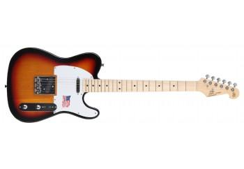 SX STL/ALDER Telecaster 3TS - 3 Tone Sunburst - Elektro Gitar