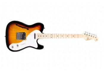 SX STLH 3 Tone Sunburst - Elektro Gitar