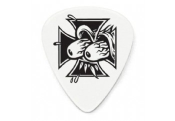 Jim Dunlop Frank Kozik 0,73mm - Eyes Cross - - 1 Adet - Pena