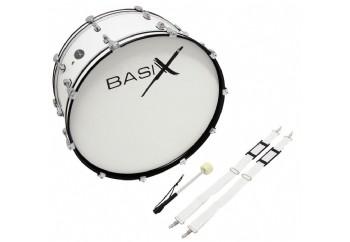 Basix F893.122 Basix Street Percussion Marching Bass Drum - Bando Davulu 26x10