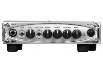 Gallien Krueger MB200 Ultra Light Bass Amp Head - Bas Kafa Amfisi