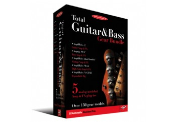 IK Multimedia Total Guitar & Bass Gear Bundle Crossgrade - Efekt Yazılım Paketi