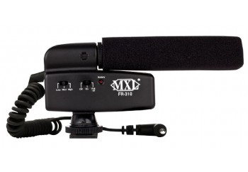MXL FR-310 Hot Shoe Shotgun Microphone - Shotgun Kamera Mikrofonu