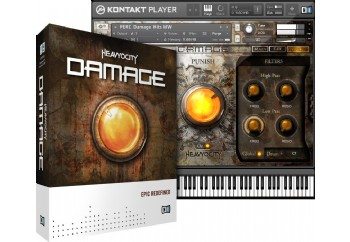 Native Instruments Damage Virtual Instrument Software - Müzik Yazılımı