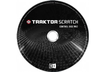 Native Instruments Traktor Scratch Control CD MK2 - Traktor DJ Studio için Kontrol CD (çift)