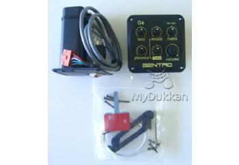 Gentro G6 - 4 Band Ekolayzer ve Saz için Eşik Altı Manyetik