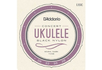 D'Addario J53C Ukulele, Hawaiian-Concert Takım Tel - Ukulele Teli