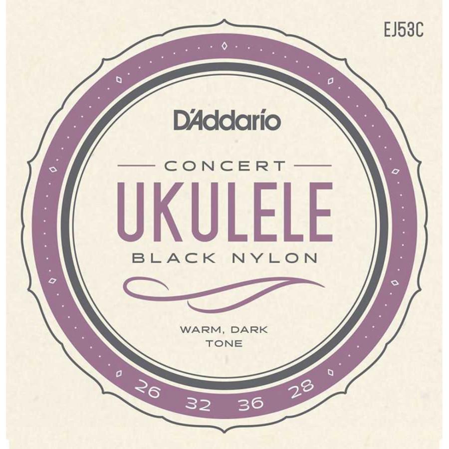 D'Addario J53C Ukulele, Hawaiian-Concert