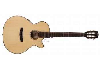 Cort CEC3 NS - Natural Satin - Elektro Klasik Gitar