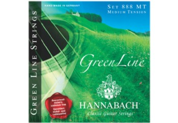 Hannabach 8887 MT GREEN LINE Medium Tension Takım Tel - Bass Set (Sadece Bas Teller Mevcuttur)