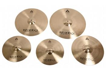 İstanbul Agop XIST Series 4-Pack Cymbal Set IXCSB (Brilliant - Parlak ) - Zil Seti