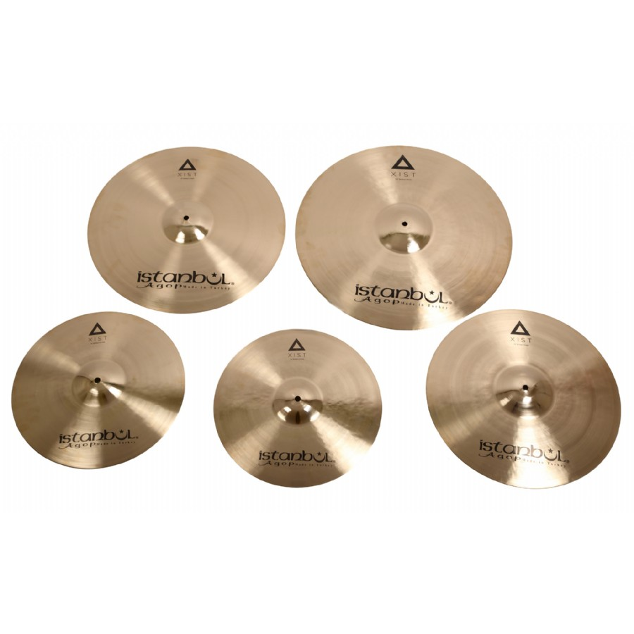 İstanbul Agop XIST Series 4-Pack Cymbal Set
