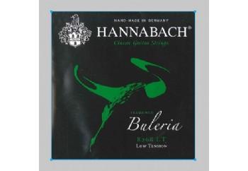 Hannabach 8268 LT Buleria Flamenco, 3-Treble Set Alt 3 Tel - Flamenko Gitar Teli
