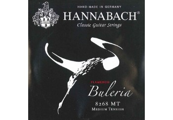 Hannabach 8268 MT Buleria Flamenco, 3-Treble Set Alt 3 Tel