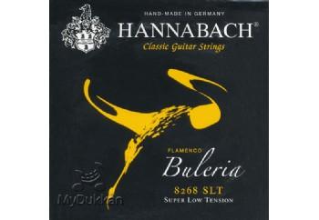Hannabach 8268 SLT Buleria Flamenco, 3-Treble Set Alt 3 Tel - Flamenko Gitar Teli