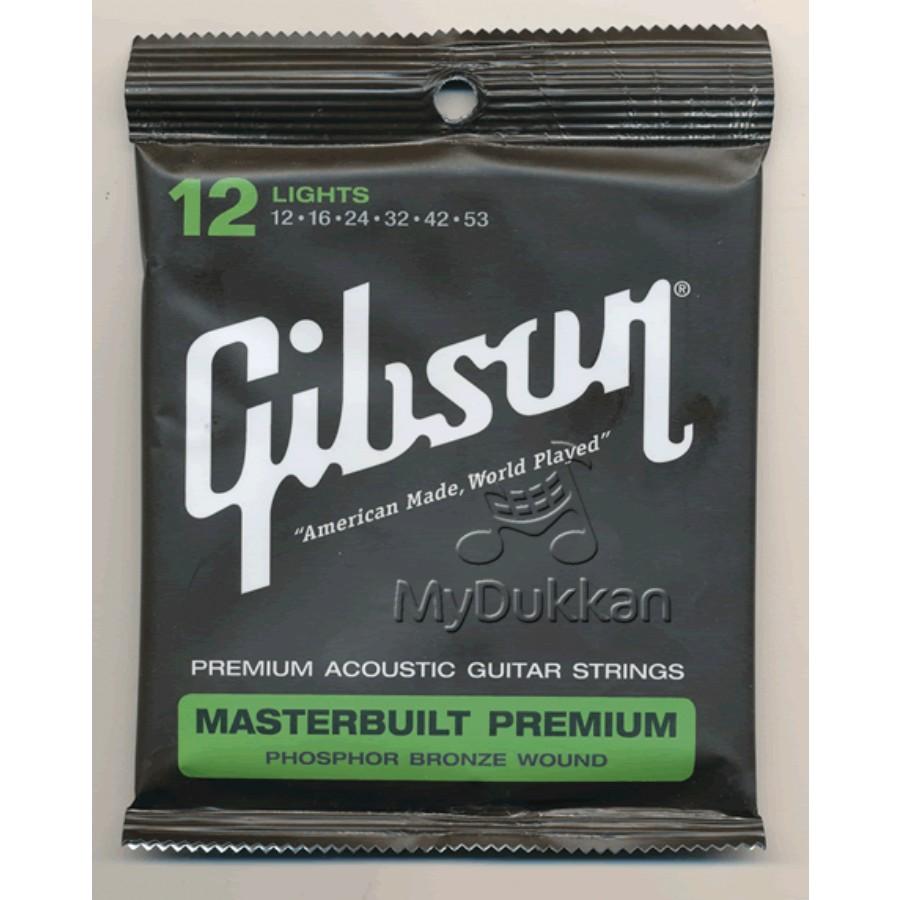 Gibson SAG-MB12 Masterbuilt Premium Phosphor Bronze