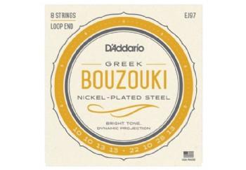 D'Addario J97 Bouzouki Greek Nickel Takım Tel - Buzuki Teli