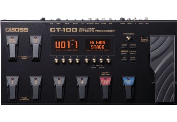 Boss GT-100 Amp Effects Processor - Gitar Prosesör