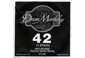 Dean Markley Wound Single 1142 - 042w - Elektro Gitar Tek Tel (Sarımlı)