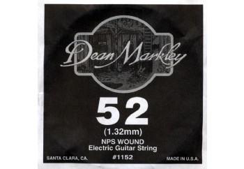 Dean Markley Wound Single 1152 - 052w - Elektro Gitar Tek Tel (Sarımlı)