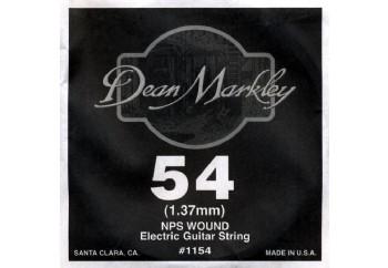 Dean Markley Wound Single 1154 - 054w - Elektro Gitar Tek Tel (Sarımlı)