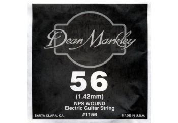 Dean Markley Wound Single 1156 - 056w - Elektro Gitar Tek Tel (Sarımlı)