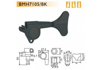 Dr. Parts BMH7105-R4 BK - Siyah - Bas Gitar Akort Burgusu