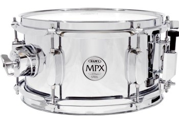 Mapex MPST0554 MPX Series Steel Snare Drum in Chrome - 10''x 5,5'' Trampet