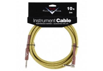Fender Custom Shop Performance Series Cables Angled - Tweed  (3 metre)