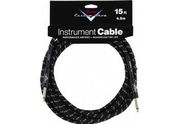 Fender Custom Shop Performance Series Cables Black Tweed (4.5 metre)