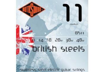 Rotosound British Steels BS11 Takım Tel - Elektro Gitar Teli 011-48