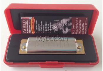 Hohner 214/20 Piccolo Harmonica C (Do Majör) - M214016