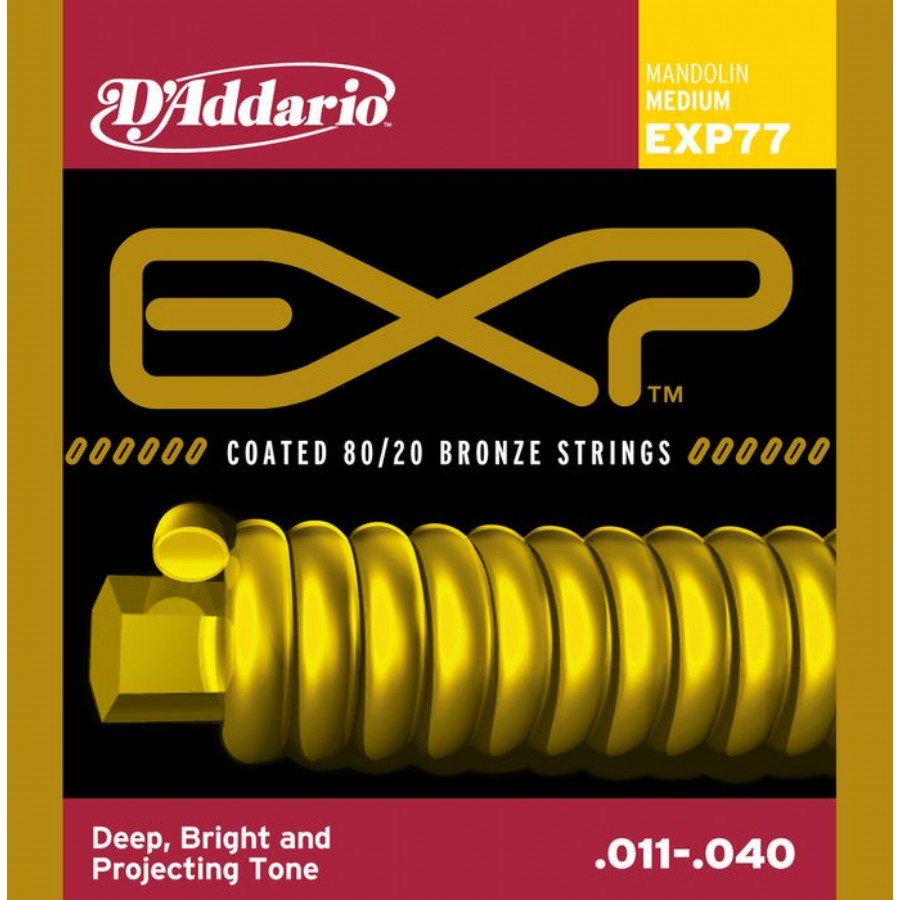 Daddario EXP77 Bronze Mandolin Strings